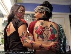 indian tattoo-NAVRATri festival