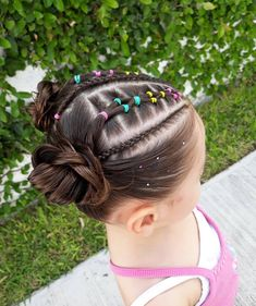 Kids Curly Hairstyles, Little Girl Hairstyles, Braided Hairstyles, Baby Girl Hair, French Braid, Curly Hair Styles, Paisley, Kids Fashion, Braids