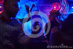 In Nightclub Stock Photo - Image: 63485536