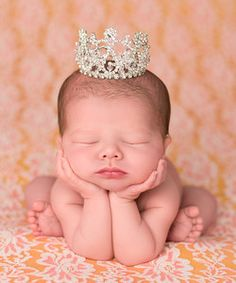 The Tiny Blessings Boutique Silver Crystal Mini Crown | Something special every day