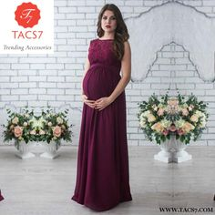 690e6ff5f48 Elegant Lace Party Pregnancy Wear. Pregnant Party DressMaternity  Photography PropsElegant ...