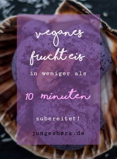 Veganes Fruchteis! Rezepte für Himbeer und Blaubeer- Eis auf meinem Blog!