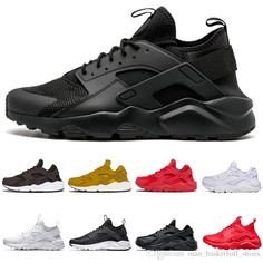 2018 Huarache 1 IV mens women Running Shoes Classic Triple White Black red  grey Huaraches Outdoor Runner sport Trainers Sneakers Eur 36-45 eaeabdfe8