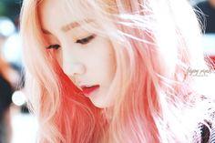 Music Bank150717出勤の少女時代テヨン