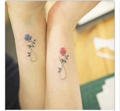 #infinity #rose #tattoo #small #elegant