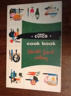 Vtg 1961 Cutco Cookbook World's Finest Cutlery Vol 1 Meat & Poultry Illustrated in Books | eBay Sold $8.99