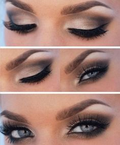 Love the look of a smokey eye? We do too! If you are looking for a dramatic prom makeup look that will be perfect for evening.