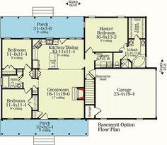 Plan 62099V: Split Bedroom Country Ranch