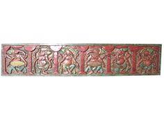 Antique Hand Carved Headboard Panel Six Nritya Ganesha Plying Musical Instrument Mogul Interior http://www.amazon.com/dp/B00PQ2CXTI/ref=cm_sw_r_pi_dp_ATqDub1FTCW8S