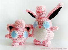 Wigglytuff Pokemon Amigurumi by ~yarnmon on deviantART