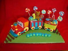 train cake inspiration for 3rd birthday