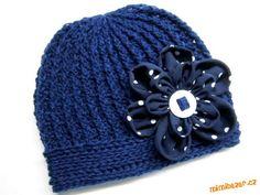 """Jarní podzimní """"žebrovaná"""" čepička vzorek pro kluky i holčičky Crochet For Kids, Crochet Baby, Knit Crochet, Clay Pot Crafts, Diy And Crafts, Kids Hats, Baby Jogger, Baby Hats, Headbands"""