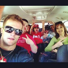 Austin and the crew