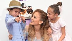 Jennifer Lopez's children have to 'schedule' time with her #FansnStars
