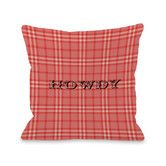 Found it at AllModern - Howdy Rope Plaid Pillow