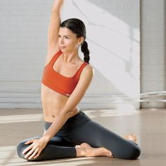 Flat-Ab Pilates Workout: Easy at-home moves to slim your belly and tone your core.