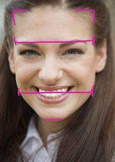 Square faces have foreheads and jaws with equal width. Chins are square versus pointy, and hairlines are frequently — but not always — angular.