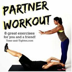 Partner Workouts via @fitfluential