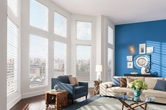 Sheer Window Shadings are a perfect combination of blinds, roller shades, and classic sheers to elev. Window Treatments, Sheer Shades, Window Decor, Wood Blinds, Home, Carpet Design, Layered Shade, Blinds, Custom Window Treatments