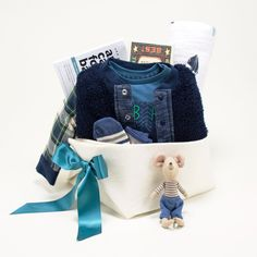 b9c71a010699 Paper Airplane. Trendy Baby Boy Gift Basket - Paper Airplane – Bonjour Baby  Baskets - Luxury ...