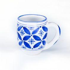Fez Hand Painted Mug - Blue
