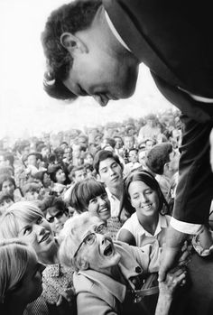 Robert F Kennedy campaign, New York, 1968  'The ultimate man in politics: he had the intelligence, the sense of caring and he knew how to play politics. He would have been one of our great presidents, and perhaps could have changed the world.'