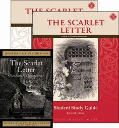 The Scarlet Letter Set (13-14-15-16-17Y) [Comprehension] [Vocabulary] [Spelling] [Composition] [Grammar] [Literature]
