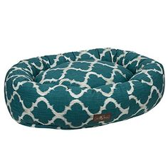 Jax and Bones Monaco Oasis Everyday Cotton Donut Dog Bed Large *** You can find out more details at the link of the image. (Note:Amazon affiliate link)