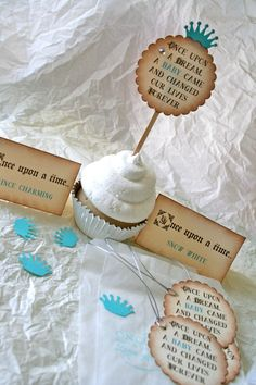Prince Princess Fairytales Baby Shower Party Goods by TheSalvage, $0.20