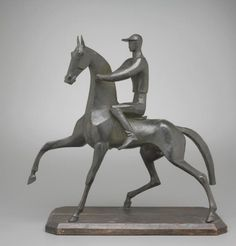 The Seattle Art Museum; The Jockey, William Hunt Diederich, 1924. One of my favorite sculptures.