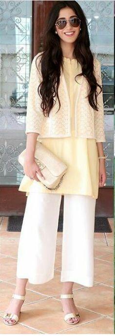 Pakistani ensemble. Jacket by BTW.