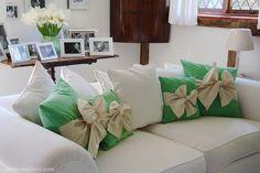 Springtime Cushions - Cherry Menlove by www.cherrymenlove.com, via Flickr