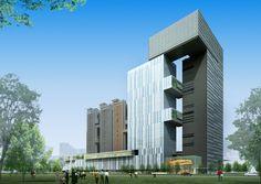 Development in Nanhai in Guangzhou by Rocco Design Architects