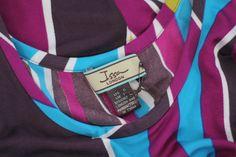 ISSA London Silk Medium Striped Dress *SOLD*