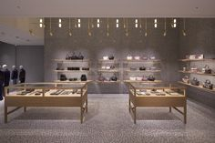 Valentino flagship store by David Chipperfield Architects, Tokyo – Japan Shop Interior Design, Retail Design, Store Design, David Chipperfield Architects, Retail Boutique, Retail Windows, Retail Interior, Design Furniture, Tokyo Japan