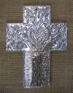 Haitian-Inspired Foil Cross | TeachKidsArt