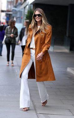 Elle Macpherson in London