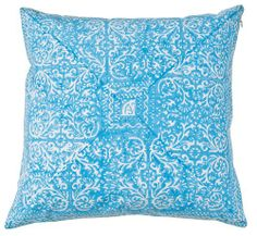 "Throw Pillow 18"" Sky Blue Block Print Insert Included Decorative Things,http://www.amazon.com/dp/B007757M70/ref=cm_sw_r_pi_dp_gHSztb0E9WXCGRMG"