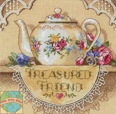 http://crossstitchworld.com/Images/6904_Treasured%20Friend%20Flower%20and%20Lace%20Teapot.jpg