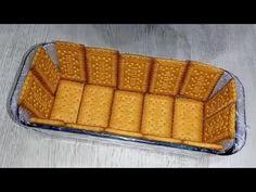 Ai cookie-urile! Faceți acest desert rapid și ușor,incredibil de delicios - YouTube Banana Recipes, Cake Recipes, Dessert Recipes, No Cook Desserts, Delicious Desserts, Cold Deserts, Serbian Recipes, Biscotti Recipe, Cake Board