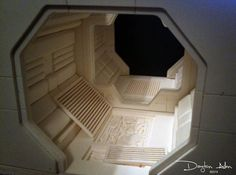 THE NOSTROMO - 1:18 Scaled Interiors - 6/15 - UPDATED BUILDS AND MORE! p.5 - Page 4