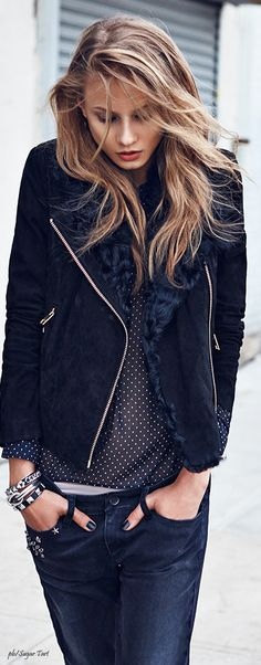 Russian fashion model Anna Selezneva is tapped for Mango Fall 2013 Catalogue, photographed by Lachlan Bailey. Spanish brand features denim for fall 2013 season. Runway Fashion, Trendy Fashion, Fashion Models, Fashion Beauty, Fashion Trends, Fashion 2015, Fashion Designers, High Fashion, Autumn Street Style