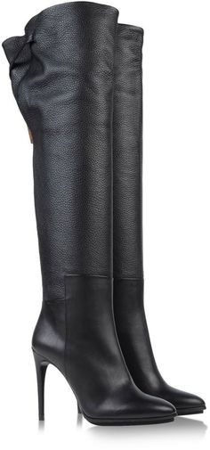 BURBERRY Over the knee boots