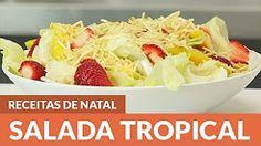 models de saladas tropicais - YouTube