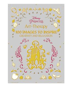 Another Great Find On Zulily Disney Princess Art Therapy Coloring Book By