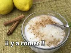 ARROZ CON LECHE EN MICROONDAS - YouTube Flan, Make It Yourself, Youtube, Ideas, Shape, Microwave Rice Pudding, Dishes, Healthy Nutrition, Pudding