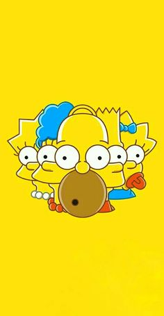 Simpson Wallpaper Iphone, Funny Phone Wallpaper, Trippy Wallpaper, Homer Simpson, Simpson Tv, The Simpsons Wallpapers, Cute Cartoon Wallpapers, Wallpapers Android, Simpsons Drawings