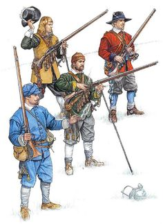 """""""Matchlock Musketeer: The English Civil Wars, 1642-1660"""""""