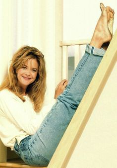 Meg Ryan - might just put my feet up for a while...