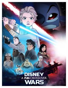 A Series Of Star Wars x Disney Animated Character Mashups - Dr Wong - Emporium of Tings. Web Magazine.